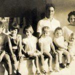 Maurilio Bellei Bastos, Geny  Maria Valle e filhos - 1969